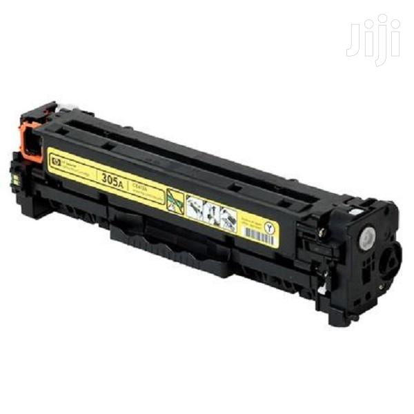 HP 305A Yellow Original Toner (CE412A) | Accessories & Supplies for Electronics for sale in Nairobi Central, Nairobi, Kenya