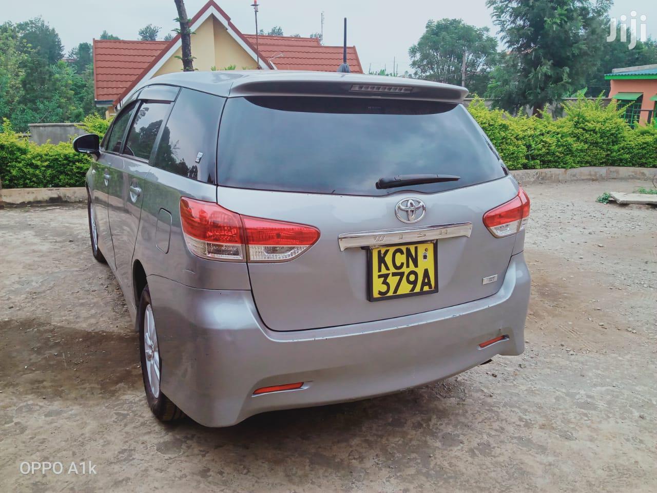 Toyota Wish 2010 Silver | Cars for sale in Ndenderu, Kiambu, Kenya