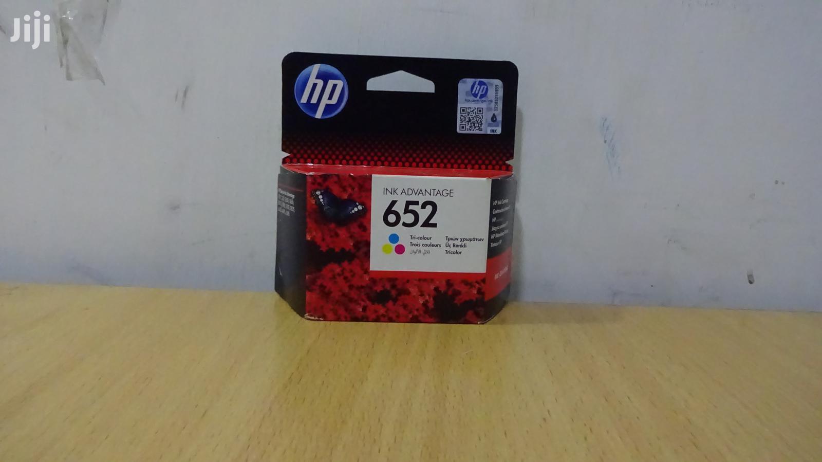 Archive: HP 652 Color Cartridge
