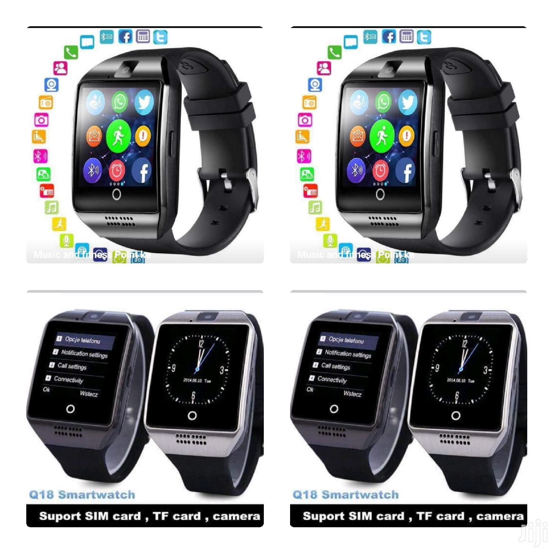 Silver Q 18 Smart Watch