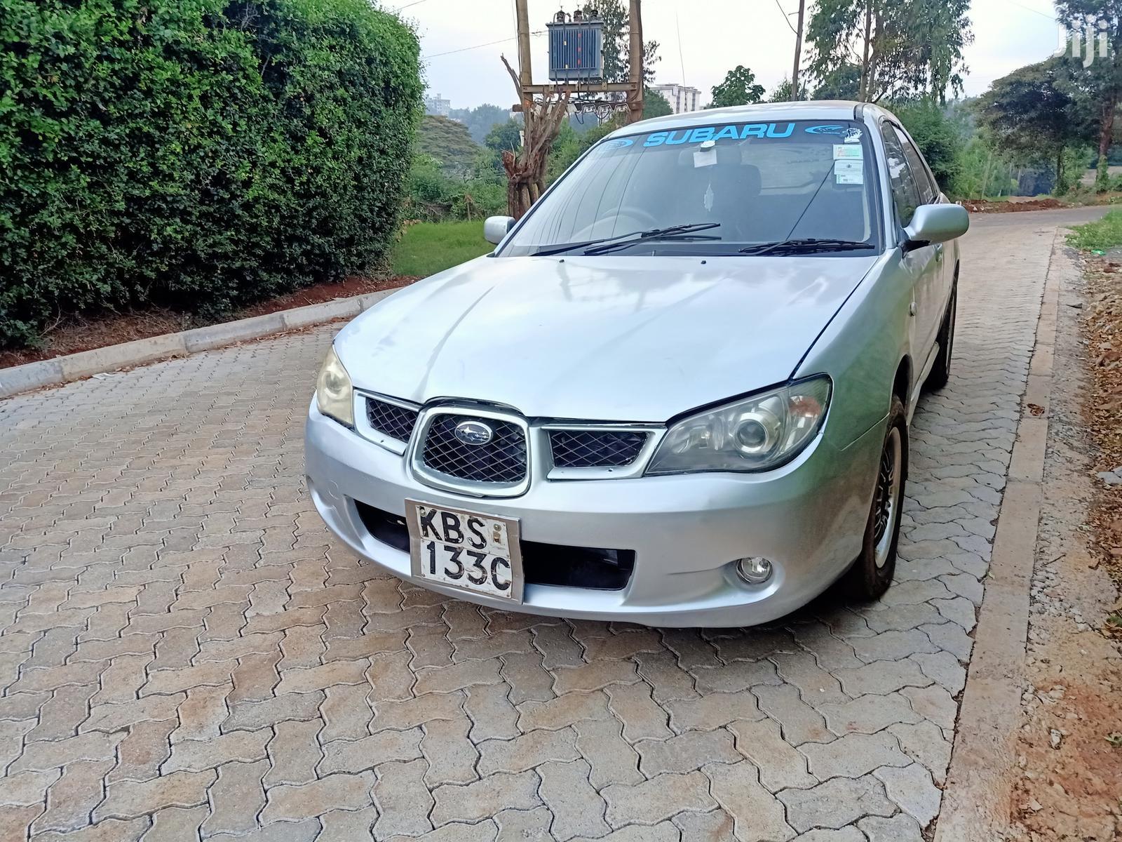 Archive Subaru Impreza 2006 2 0 R Wagon Silver In Nairobi Central Cars Njorogekareru Jiji Co Ke