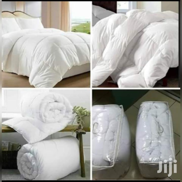 Pure White Binded Duvets