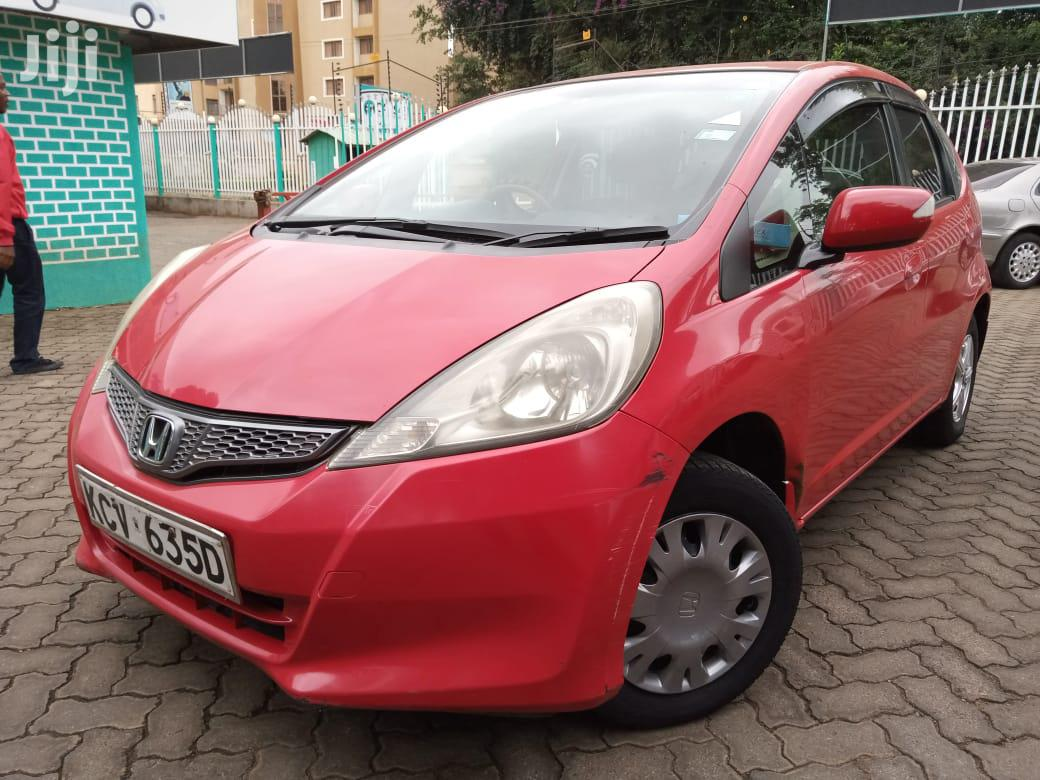 Archive: Honda Fit 2012 Automatic Red