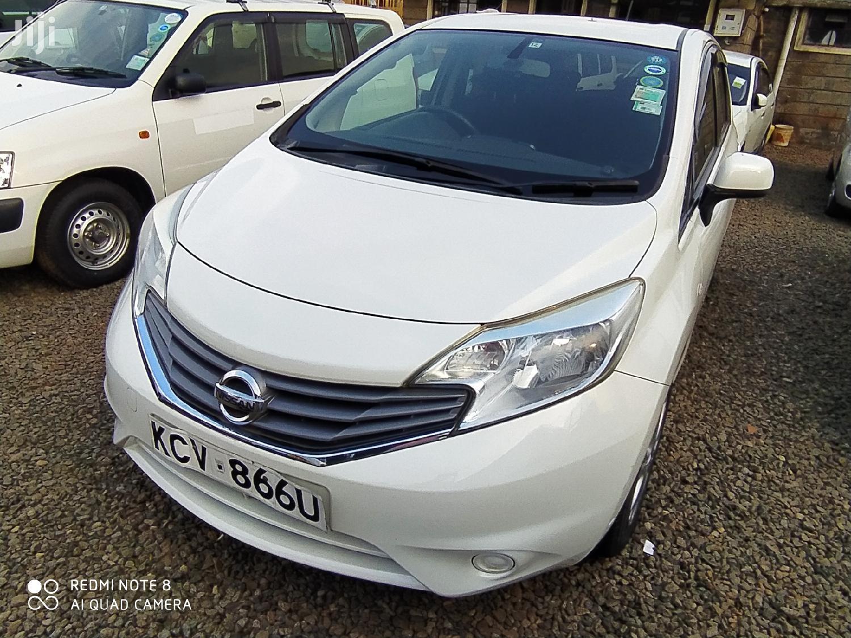Nissan Note 2012 White