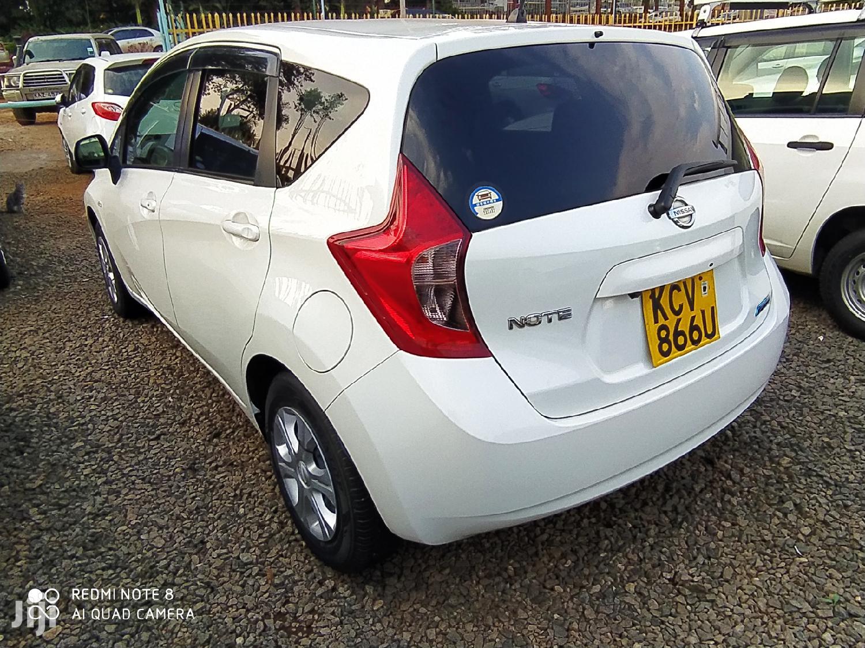 Nissan Note 2012 White   Cars for sale in Township E, Kiambu, Kenya