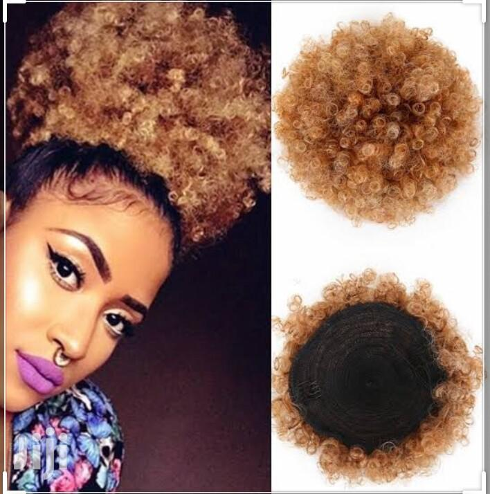 Afro Bun Hair Extension