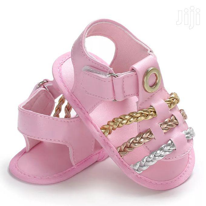 Archive: Fashion Baby Girl Antislip Prewalker Sandals Open Shoes