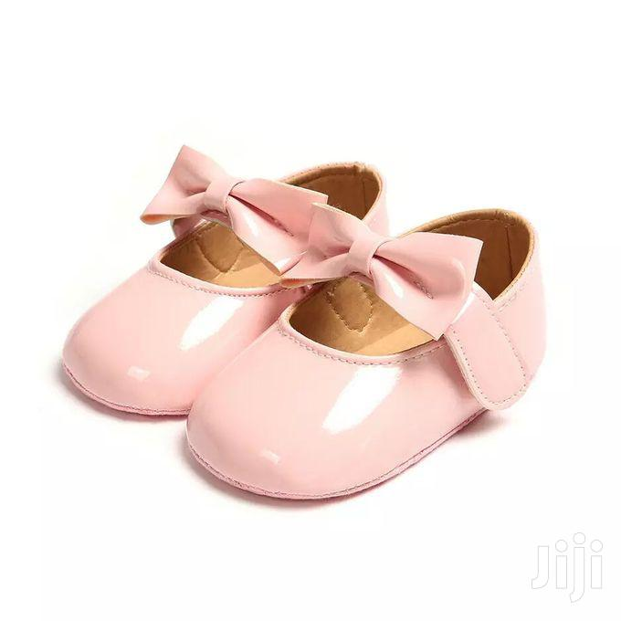 Archive: Fashion Pink Baby Girl Prewalker Shoes With Soft Sole