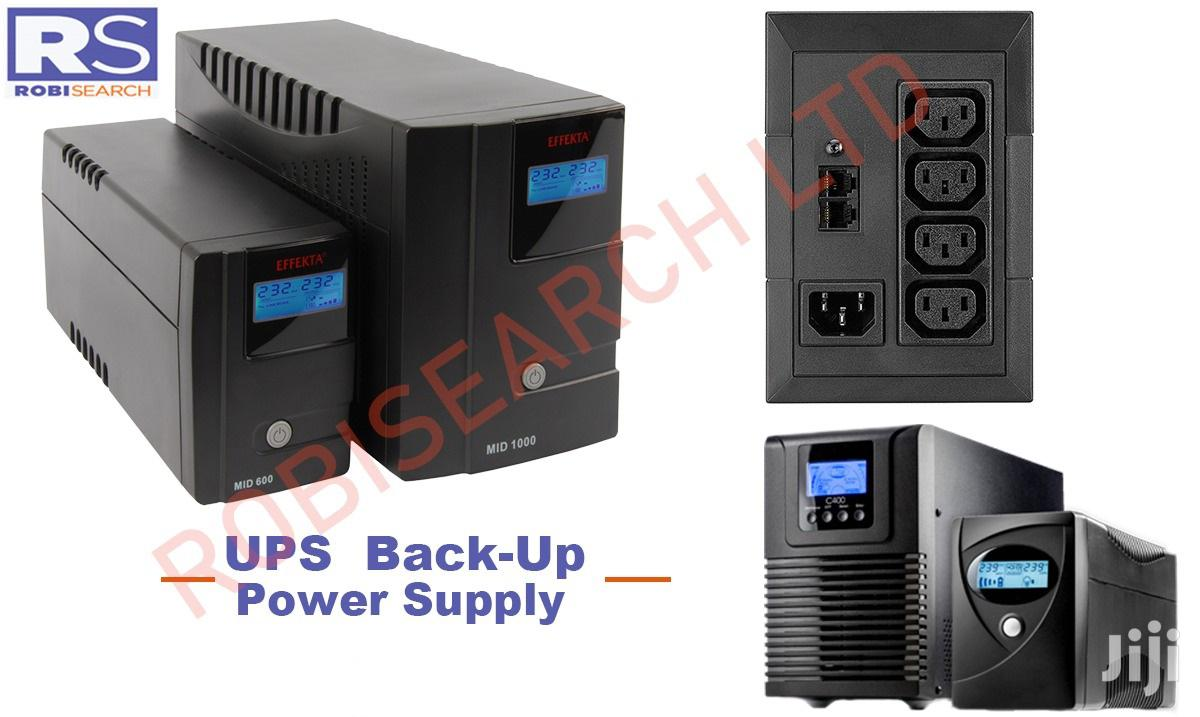 Archive: UPS Back-up Power Supply