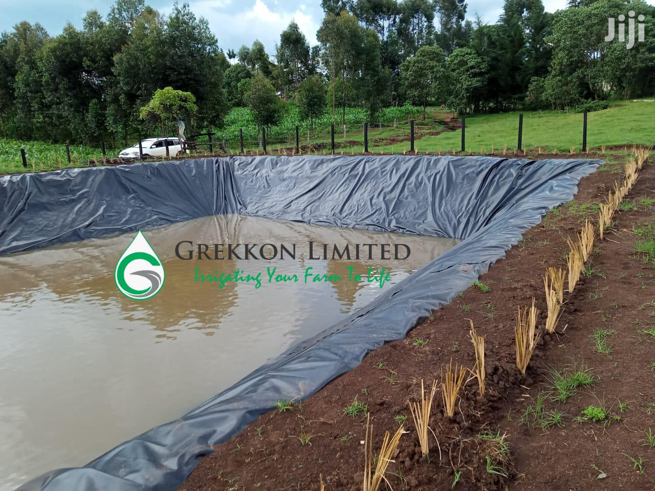 Best 0.5mm Dam Liner Price In Kenya | Grekkon Limited | Farm Machinery & Equipment for sale in Langas, Uasin Gishu, Kenya