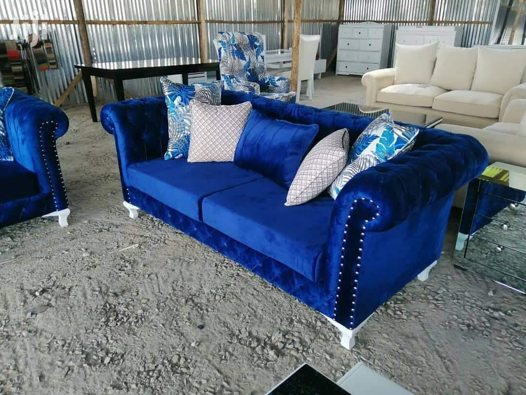 Chesterfield Sofa Set Three Seater With a Two Seater