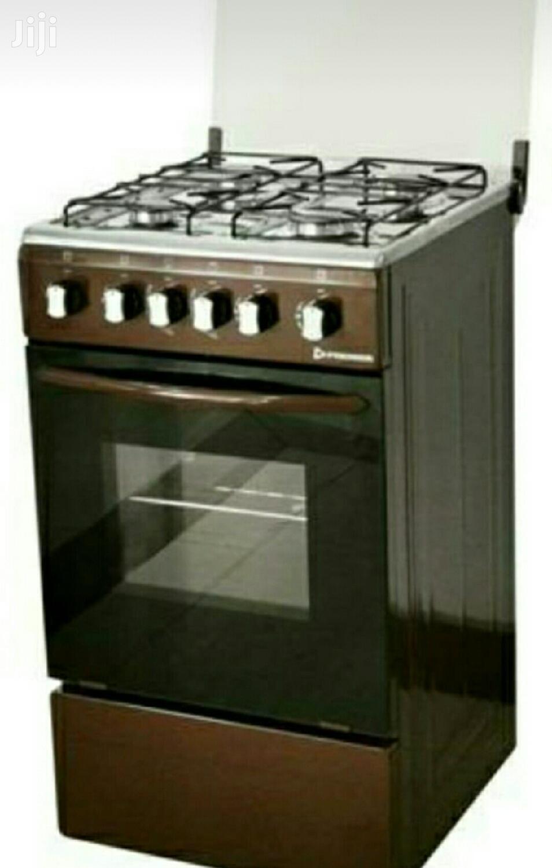 Premier 4 Burner Gas Cooker
