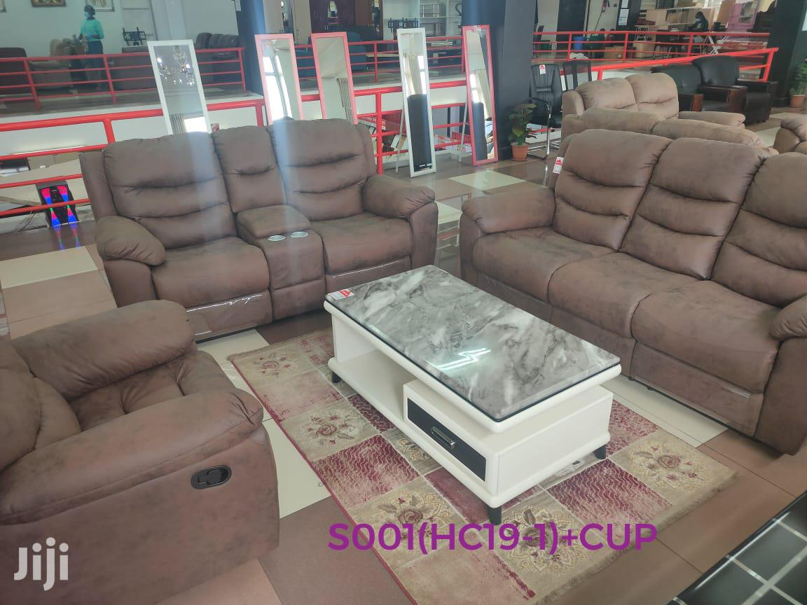 Recliner Sofas With Cupholders | Furniture for sale in Nairobi Central, Nairobi, Kenya