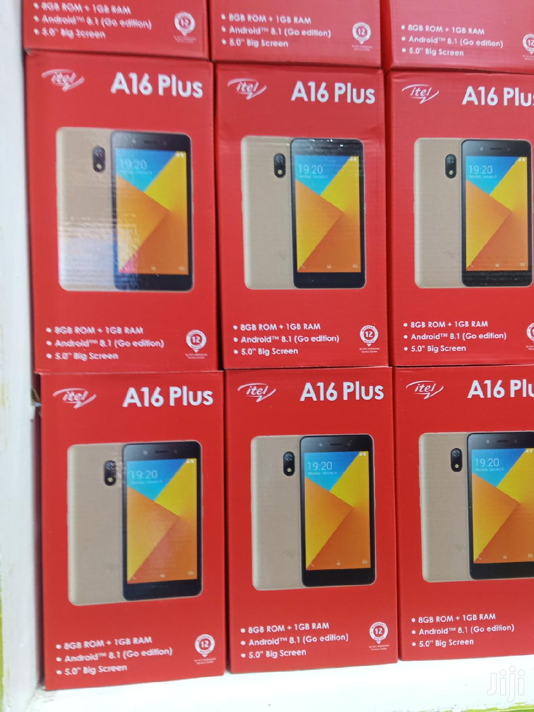 New Itel A16 Plus 8 GB Gold | Mobile Phones for sale in Nairobi Central, Nairobi, Kenya