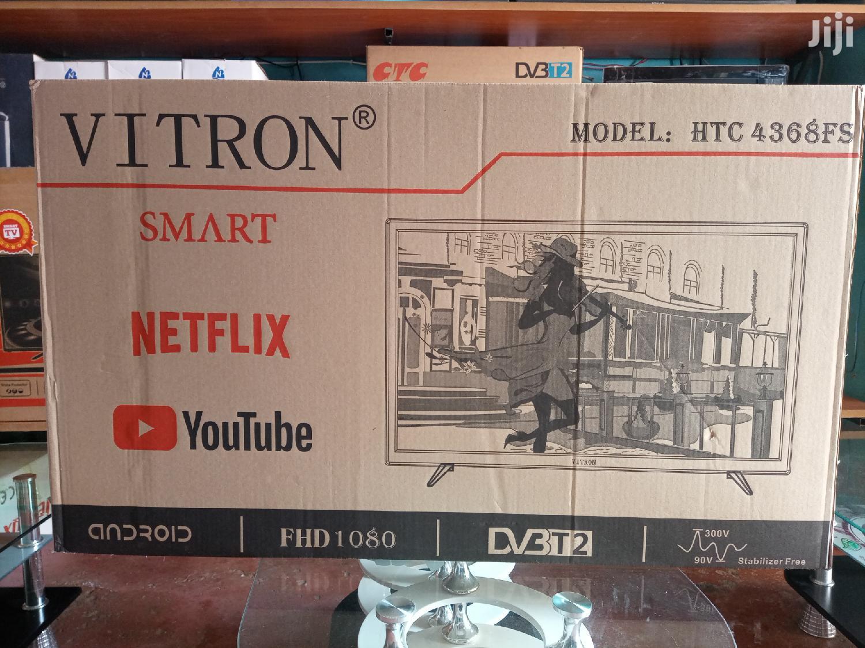Vitron Smart Tv 43inch | TV & DVD Equipment for sale in Nairobi Central, Nairobi, Kenya