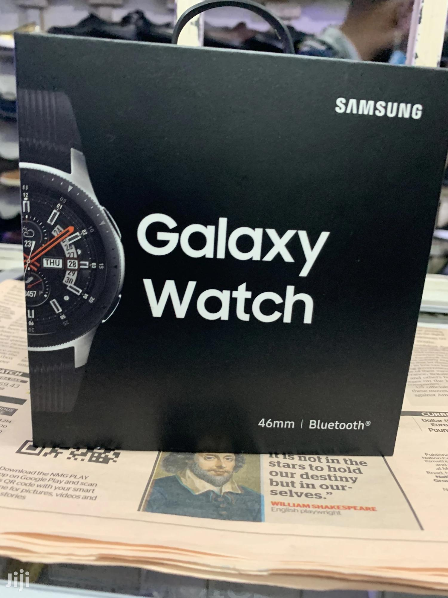 Samsung Galaxy Watch Silver 46mm | Smart Watches & Trackers for sale in Nairobi Central, Nairobi, Kenya