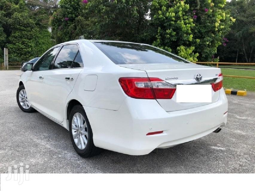 Archive: Toyota Camry 2013 White