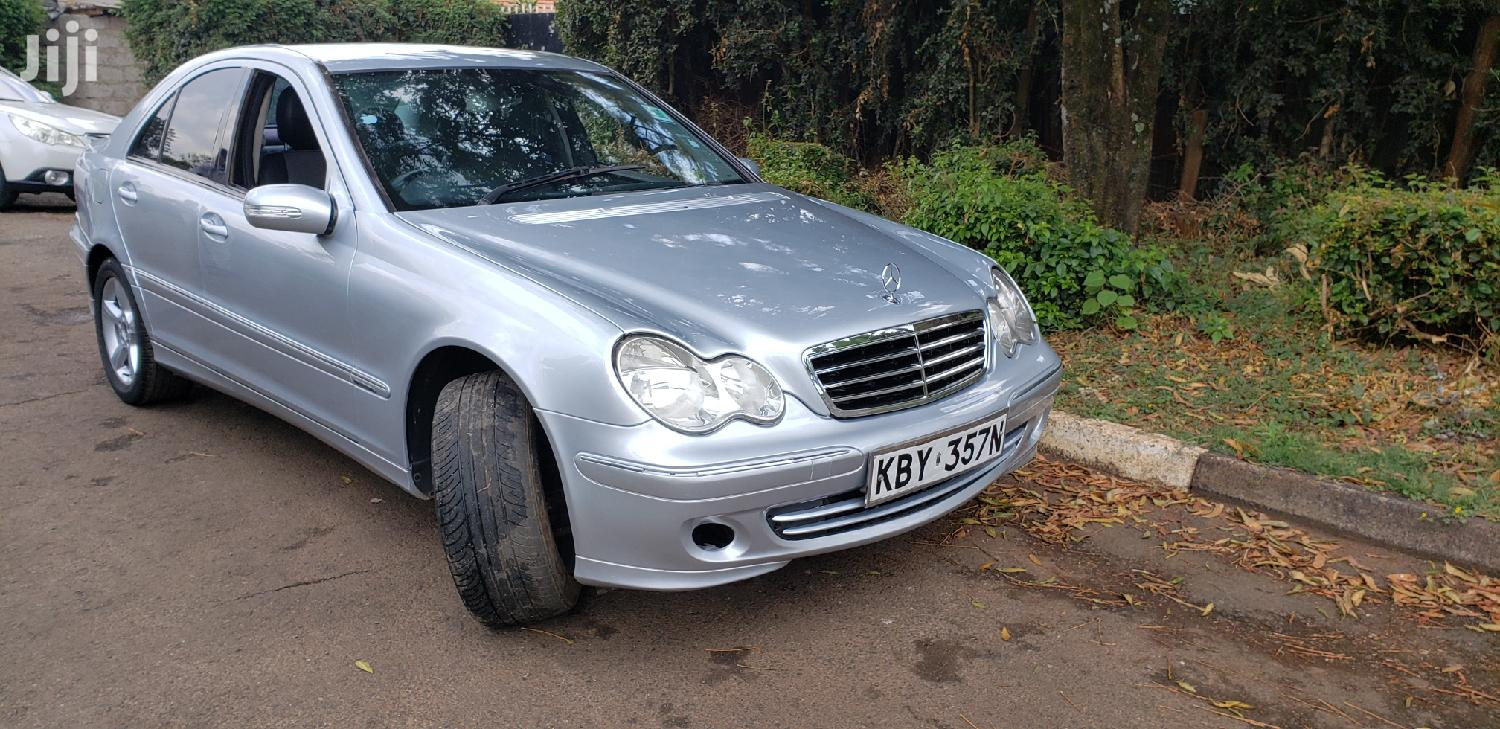 Archive: Mercedes-Benz C200 2007 Silver