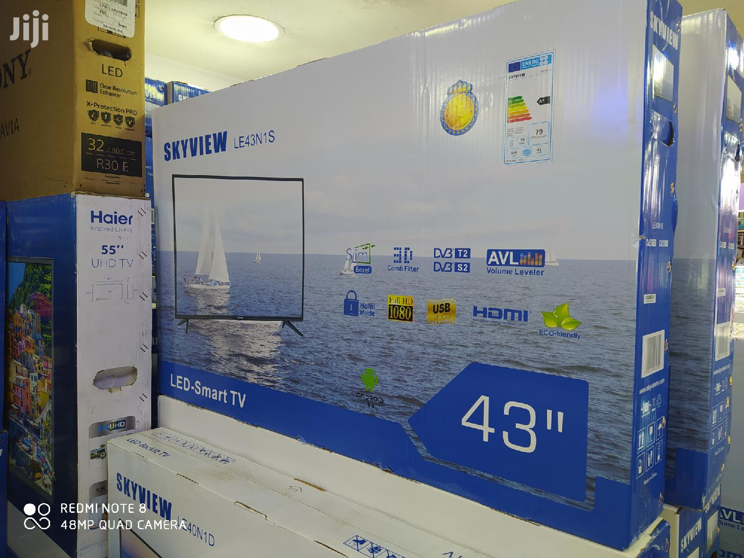 Skyview 43 INCH - Smart Digital Full HD LED TV - Android -43