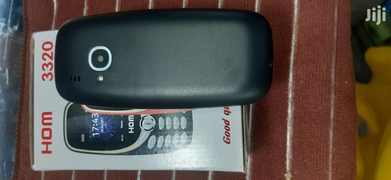 New Mobile Phone Black