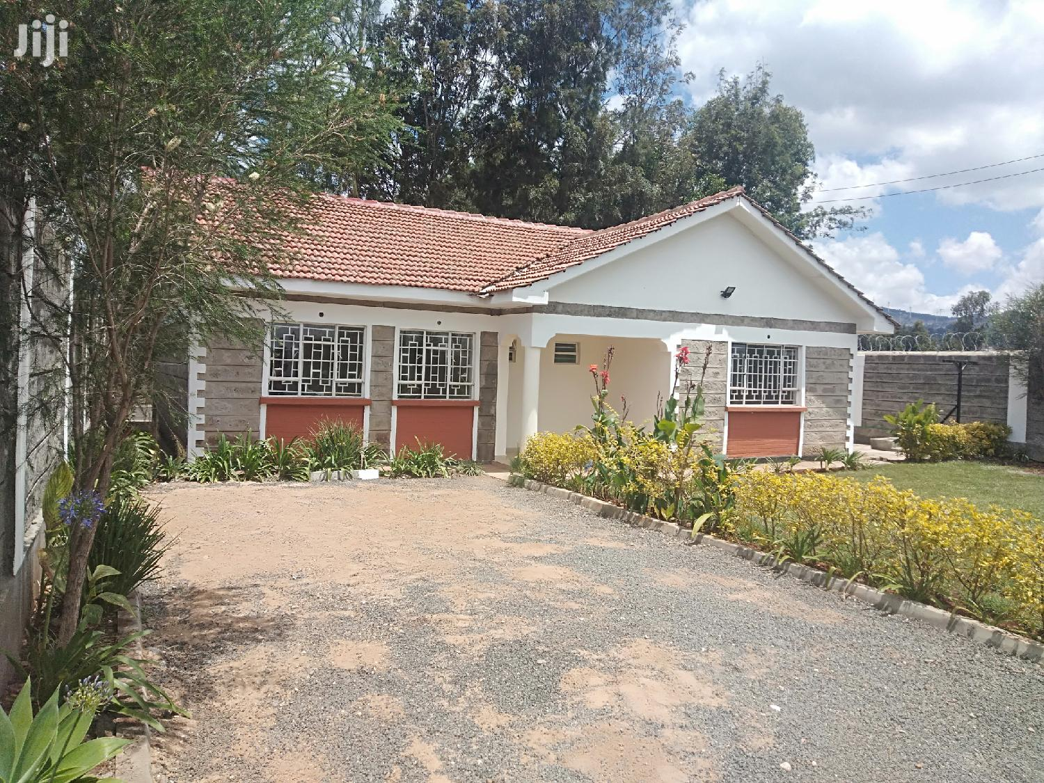 Archive: 3br Master Ensuite Bungalow To Let In Ngong-zambia