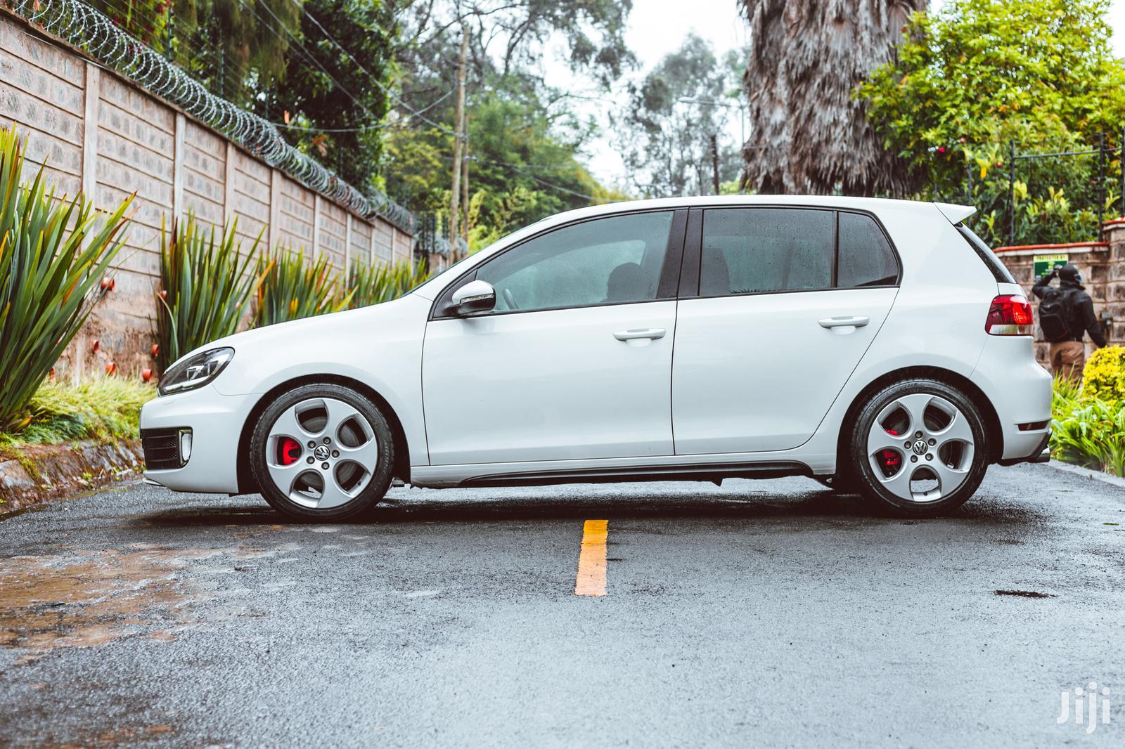 Archive: Volkswagen Golf GTI 2013 White