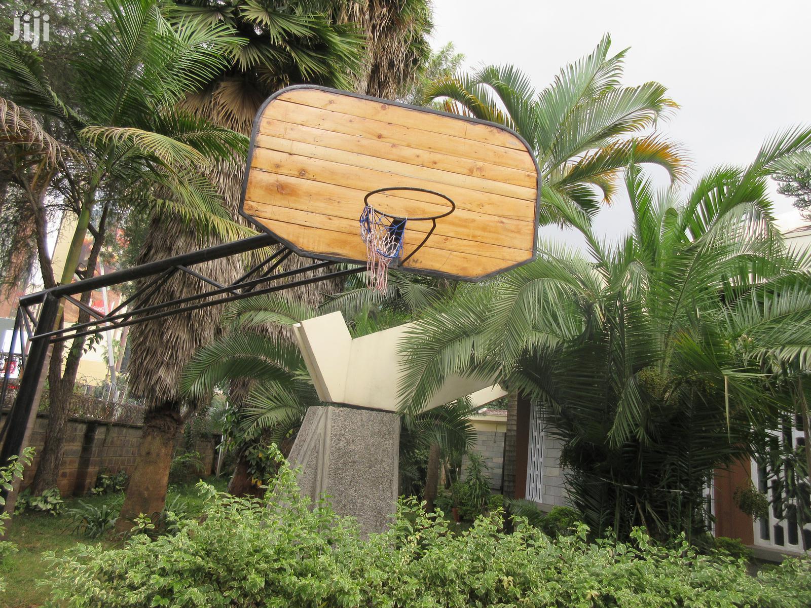 Basket Ball Court Hoop Construction And Set Up. | Sports Equipment for sale in Nairobi Central, Nairobi, Kenya