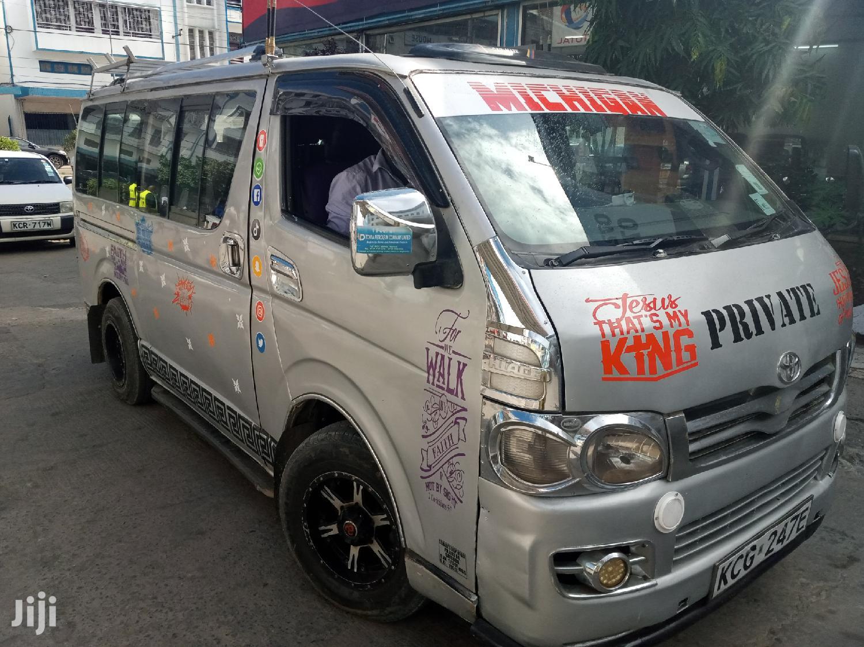 Hiace Auto Diesel   Buses & Microbuses for sale in Tudor, Mombasa, Kenya