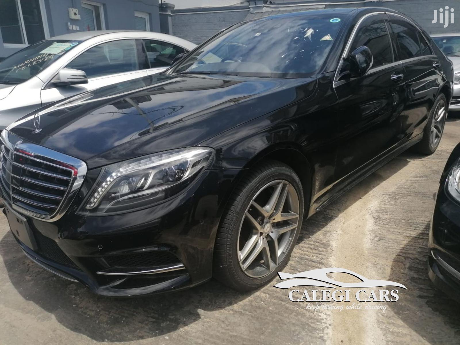 Mercedes-Benz S Class 2014 Black