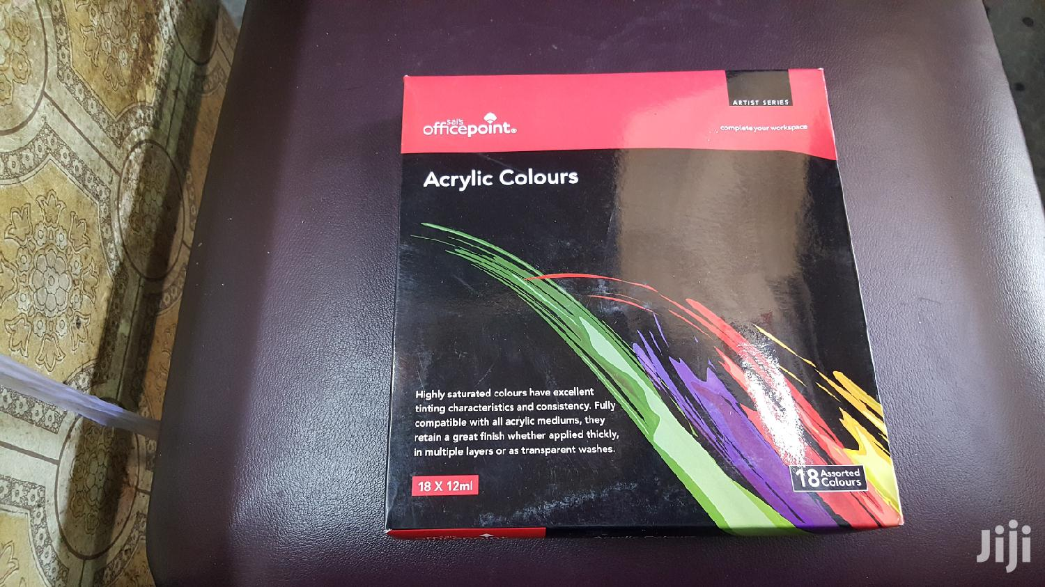 Acrylic Paints 18pc Set 12ml | Arts & Crafts for sale in Nairobi Central, Nairobi, Kenya