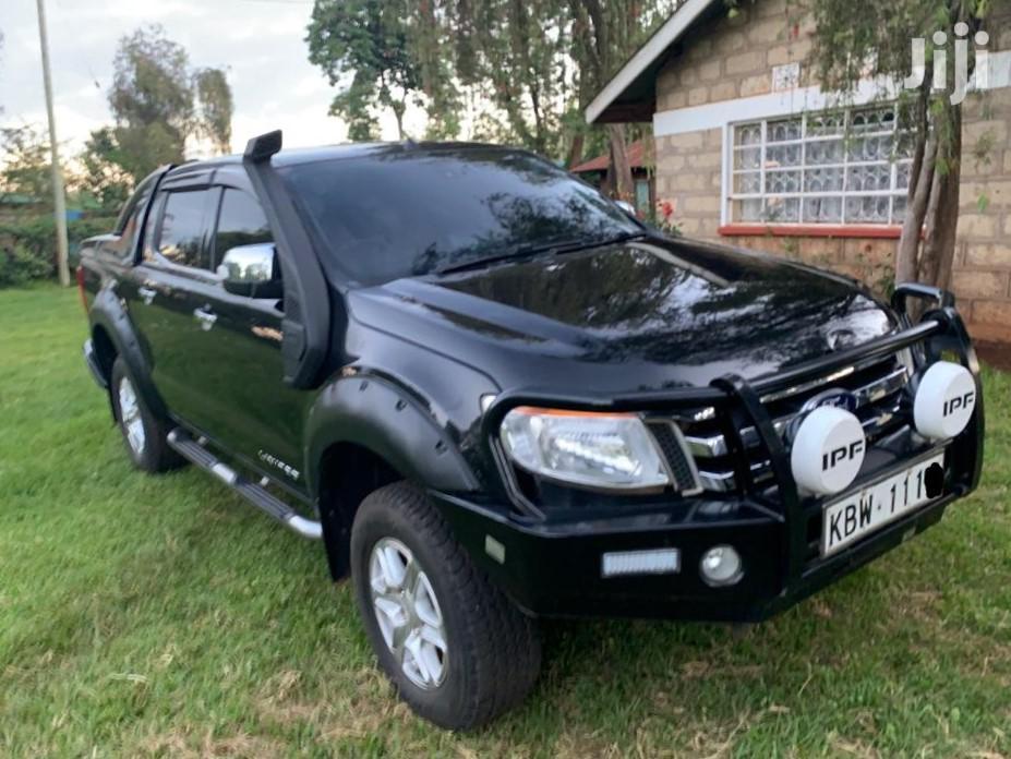 Archive: Ford Ranger 2013 Black