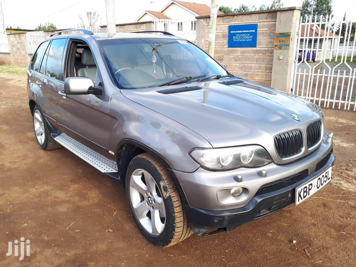 BMW X5 2005 3.0d Automatic Silver