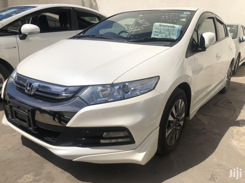 Honda Insight 2012 White