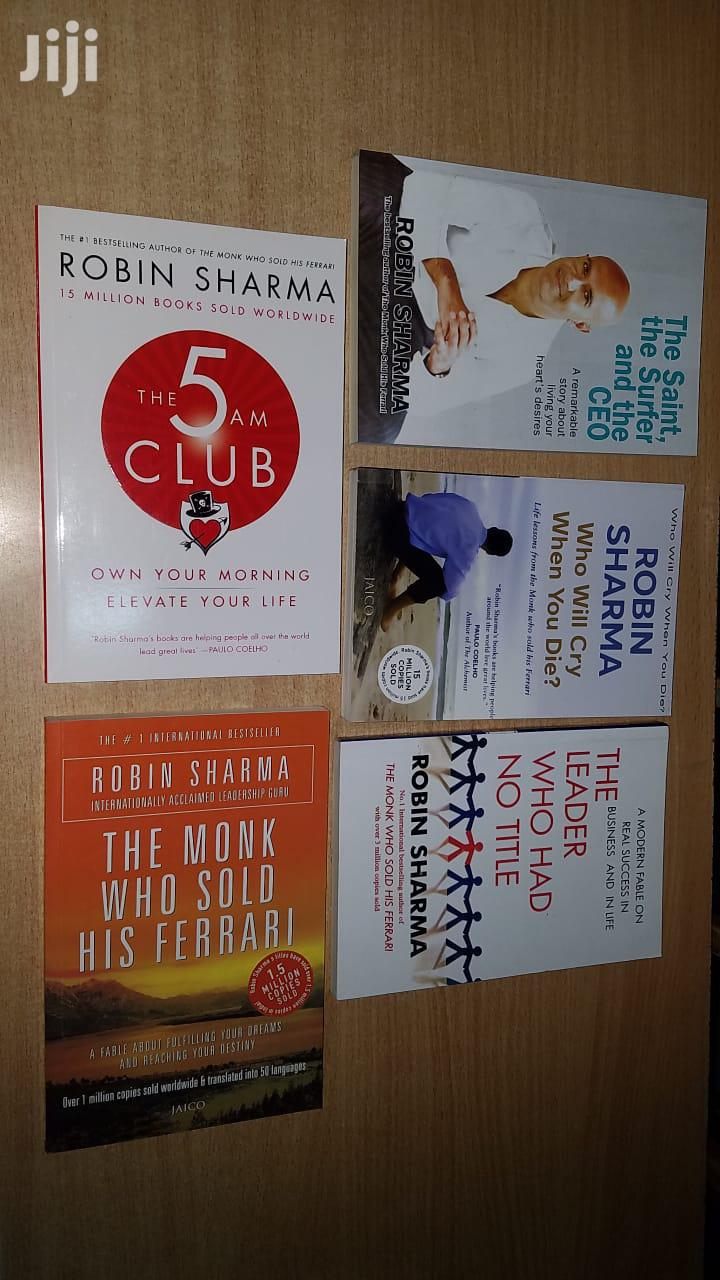 Robin Sharma Books Are Available.