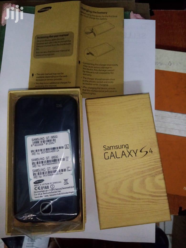 New Samsung Galaxy I9500 S4 16 GB Black | Mobile Phones for sale in Nairobi Central, Nairobi, Kenya