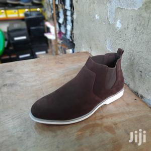 Coffee Men Italy Oxford Suede Leather Shoes Casual Classic   Shoes for sale in Nairobi, Nairobi Central