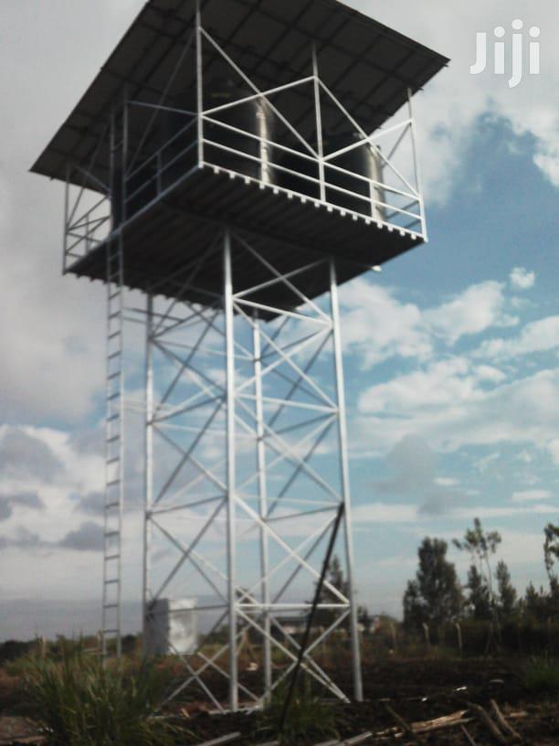 Tank Tower, Tank Platform, Steel Tower, Water Storage High