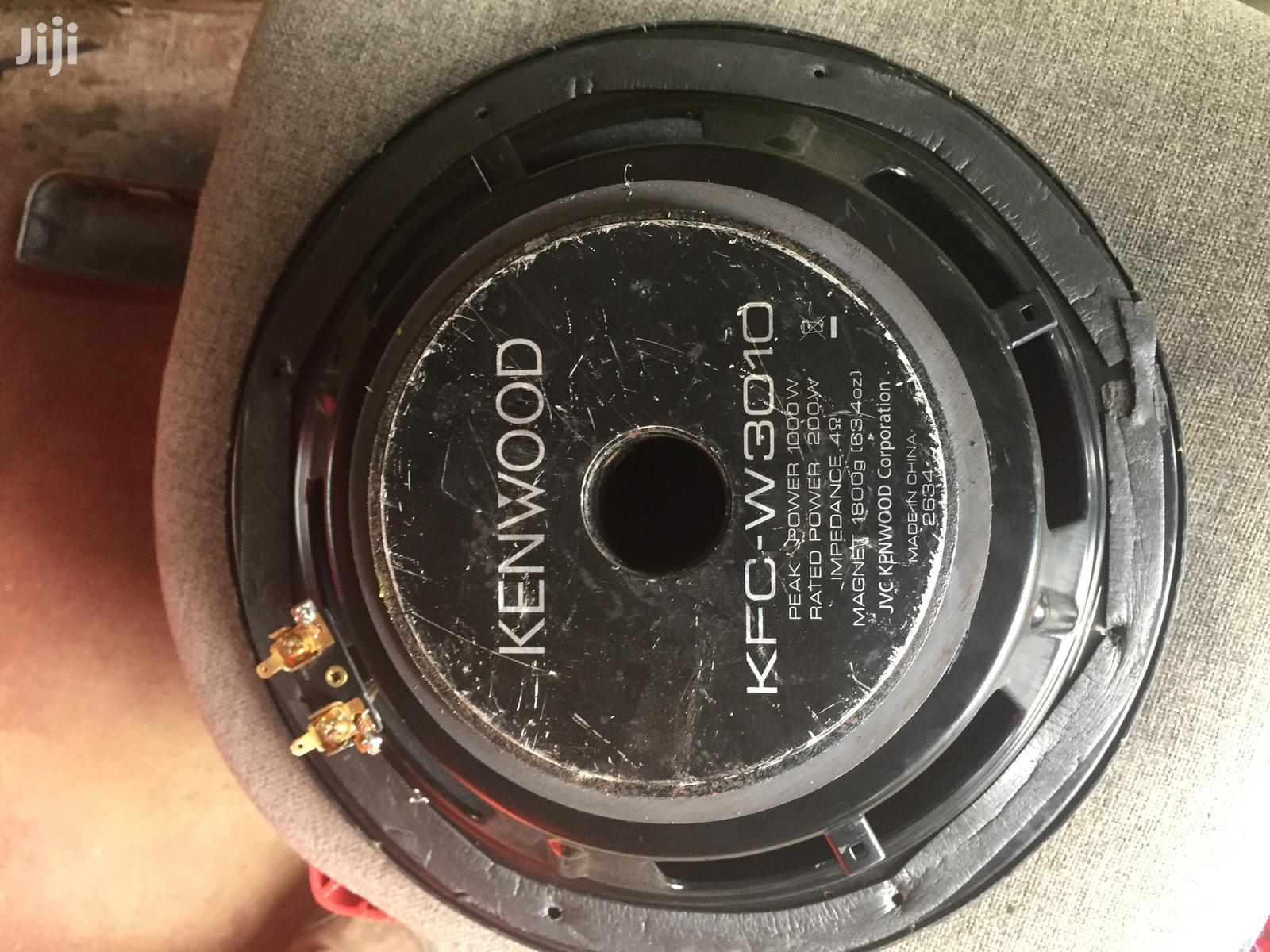 Kenwood KFC-W3010 12'' 4 Ohms Subwoofer | Vehicle Parts & Accessories for sale in Nairobi Central, Nairobi, Kenya