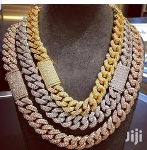 Iced Cuban Chain (Gold And Silver) | Jewelry for sale in Nairobi, Nairobi Central