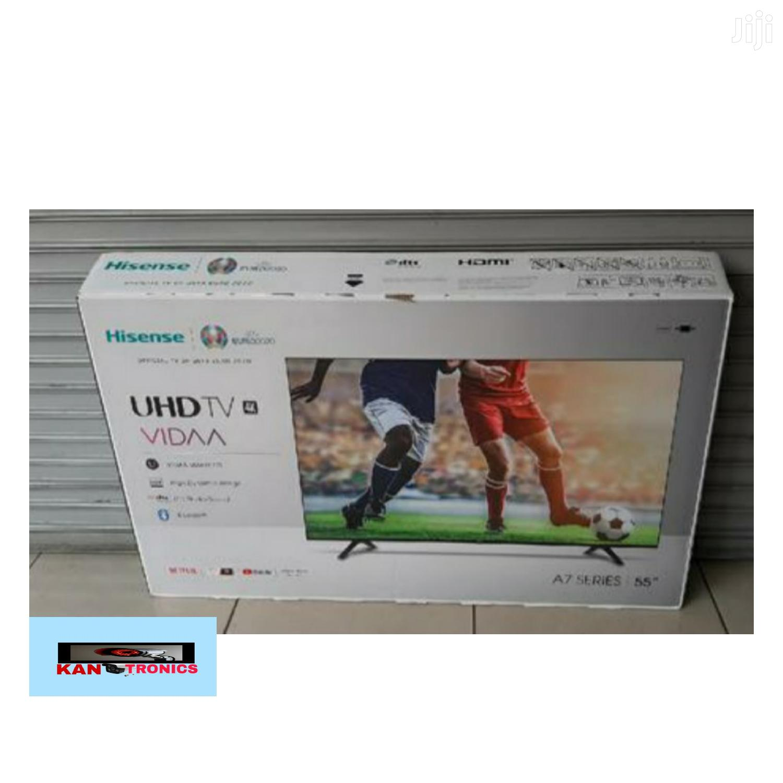 Hisense 55 Inch Smart Frameless 4K Ultra HD TV-55A7100F