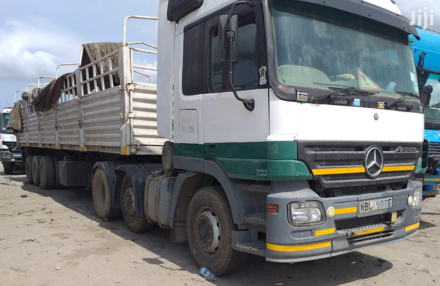 Archive: Actros 2543 Truck 2004 White For Sale
