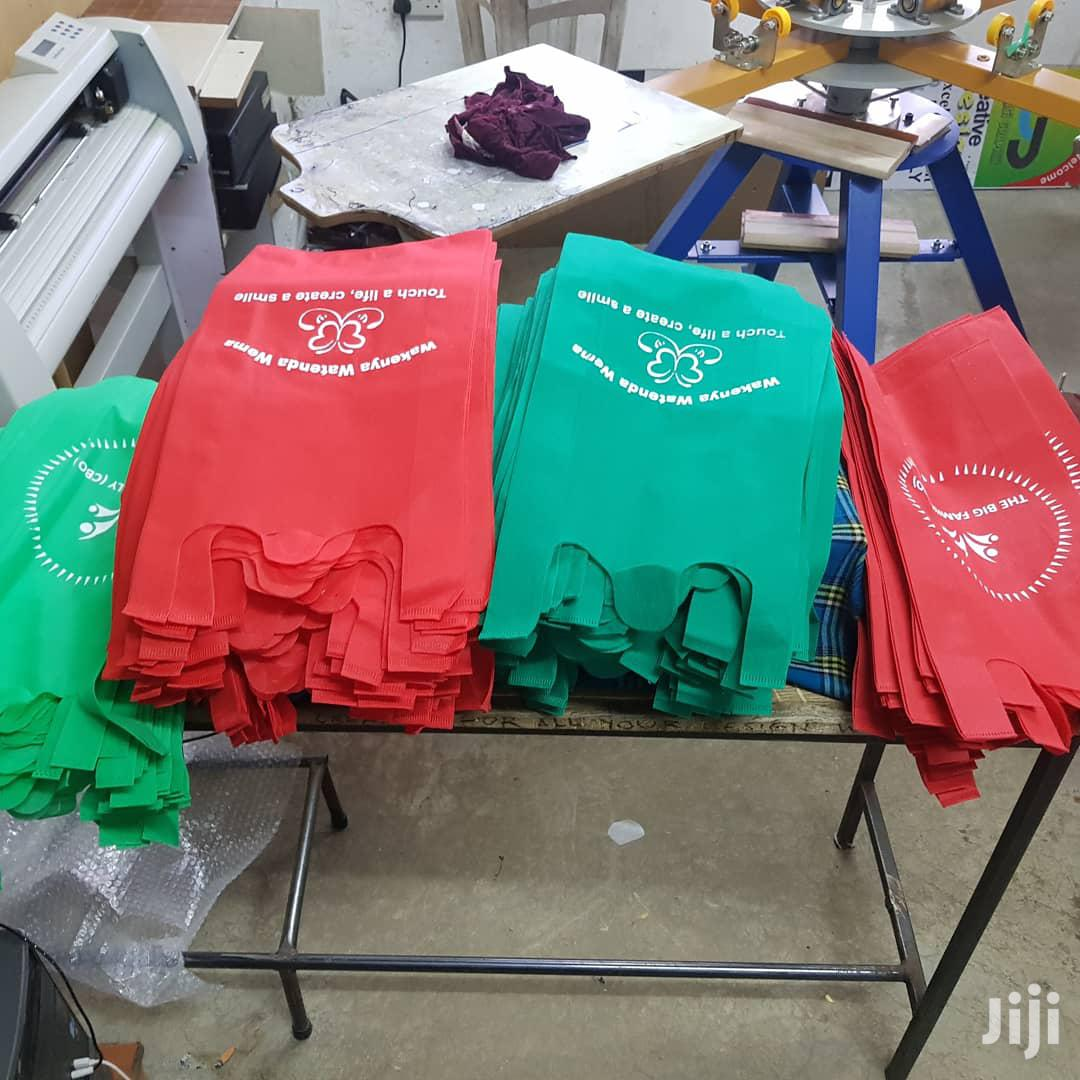 Customized, Branded Shopping Bags