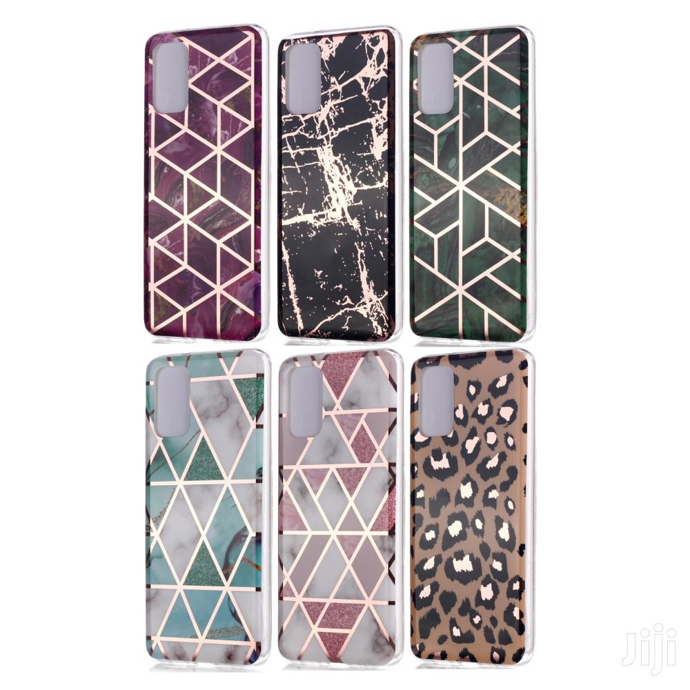 Samsung Galaxy S20Marble Pattern TPU Case - Mix Colours | Accessories for Mobile Phones & Tablets for sale in Mvita, Mombasa, Kenya