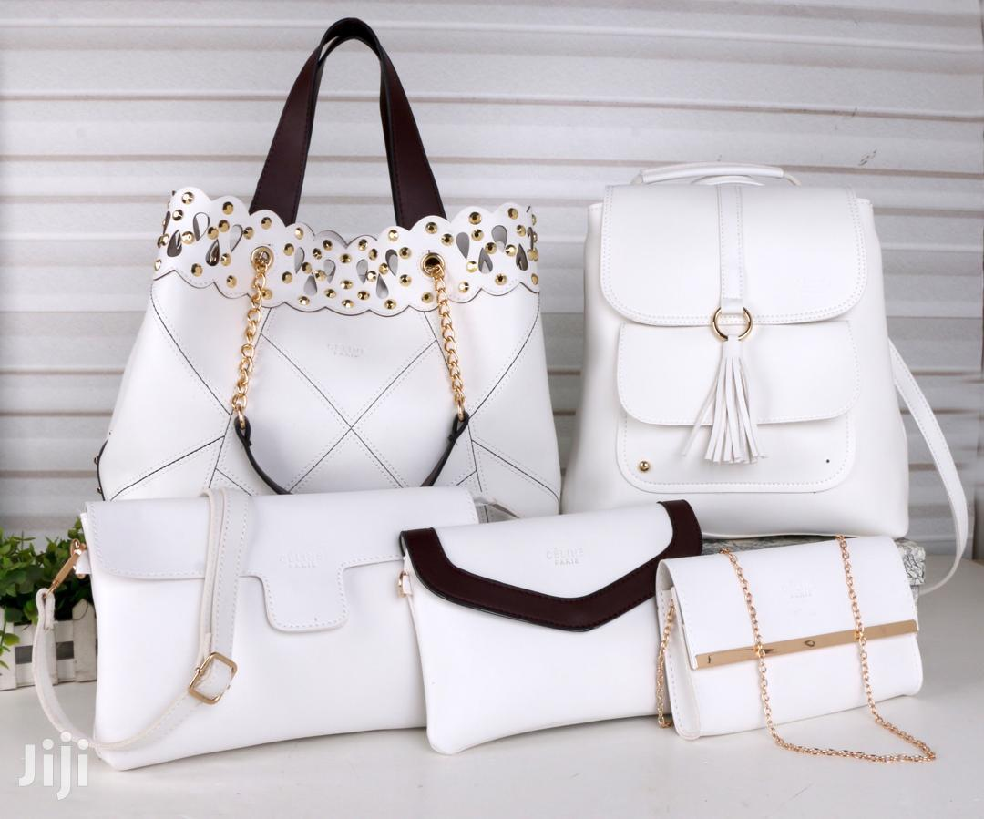 5in1 Faux Leather Handbags