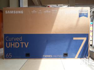 65 Inch Samsung Smart 4K Curved Nu7300 7 Series Uhd Tv | TV & DVD Equipment for sale in Nairobi, Nairobi Central