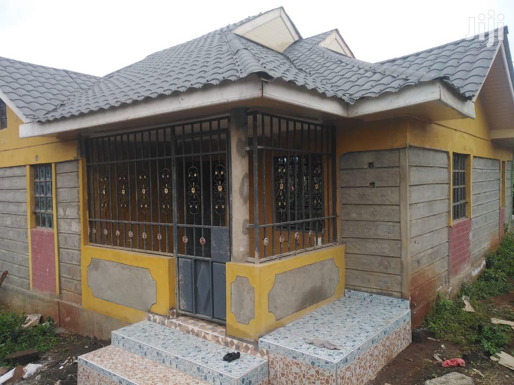3 Bedroom Hse Ndenderu Kiambu on 50x 100 1km Off Limuru Road