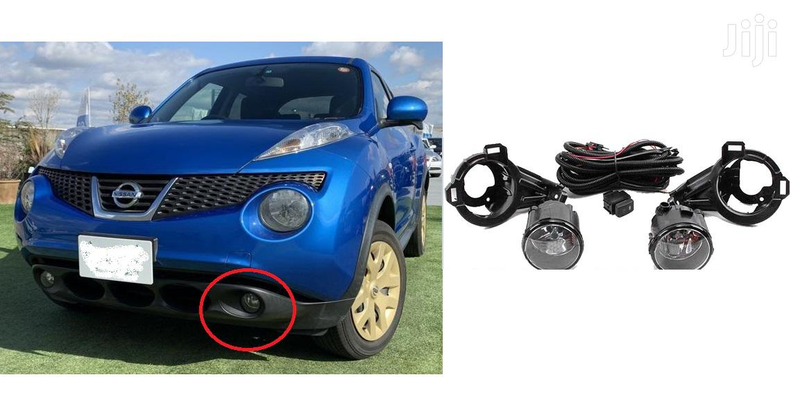 Nissan Juke: Yr2010: New Fog Lights Set