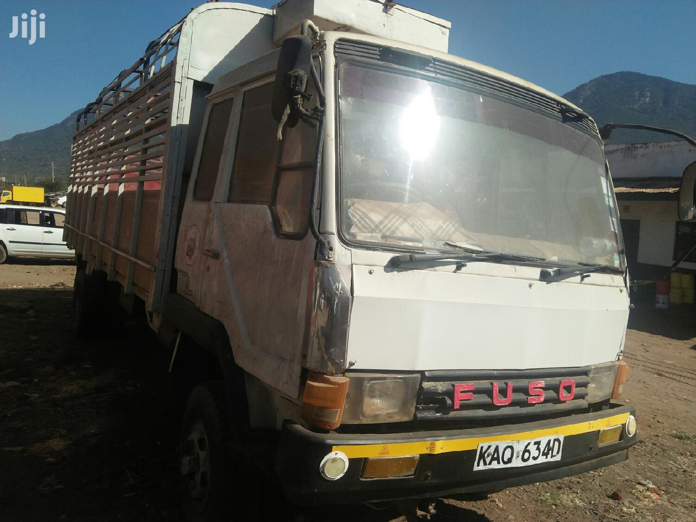 Mitsubishi Kicwa Ngombe 1990 White For Sale | Trucks & Trailers for sale in Ndumberi, Kiambu, Kenya