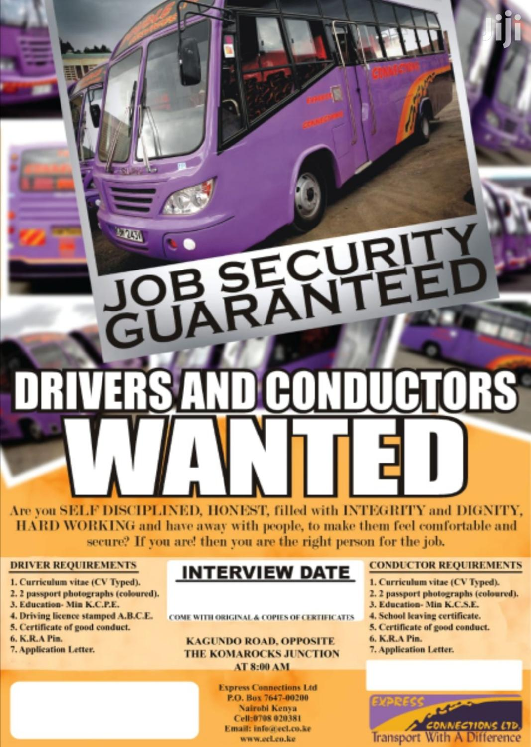 Archive: Bus Drivers Needed