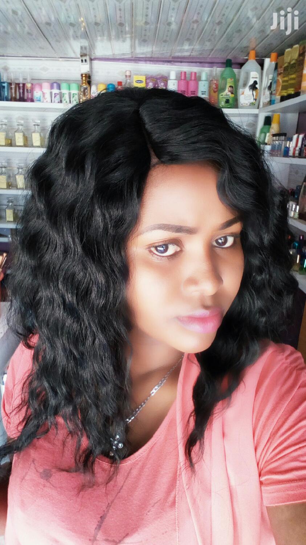Semi Human Closure Curly Wig   Hair Beauty for sale in Kahawa, Nairobi, Kenya